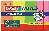 Tesa 56691-00000-01 Notizblätter, 4 x 50 Blätter