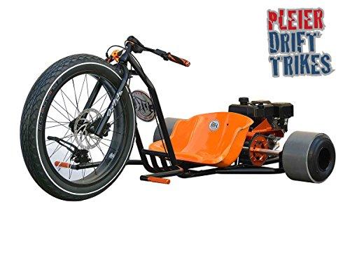 Motorisiertes Drifttrike weiss Bausatz - Kart Drift Trike