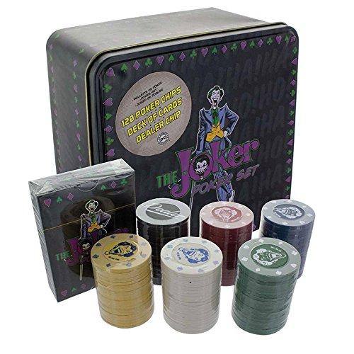 DC Comics pp3637dc der Joker Poker-Set