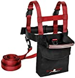 Lucky Bums Kids Unique Ski Trainer - Red, One Size