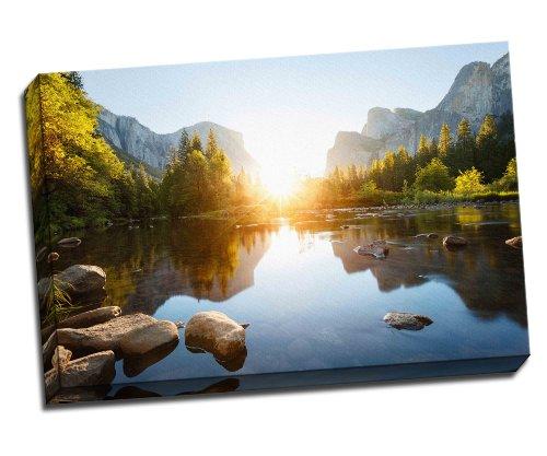 Yosemite Valley Landschaft auf Leinwand Art Print Poster 76,2x 50,8cm cm