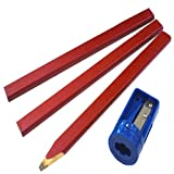 Faithfull - Tischler Bleistifte Red Pack 3