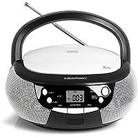 Blaupunkt B3 PLL BK Digital 1.6W Blanco - Radio CD (Digital, FM,PLL, Jugador, CD,CD-R,CD-RW, Repetir, Reproducir/Pausar, Skip Down, Skip up)