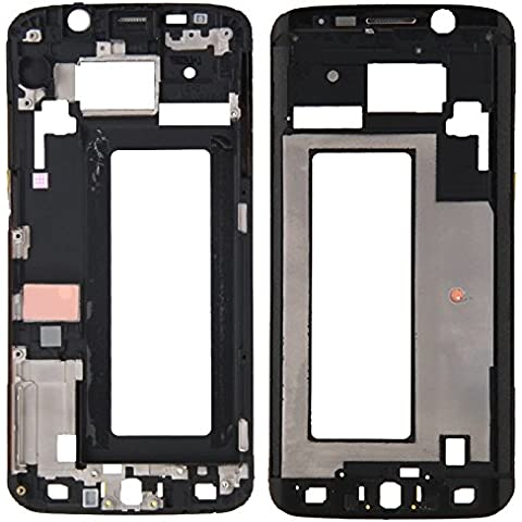Piezas de repuesto de teléfonos móviles, iPartsBuy frontal de la carcasa del LCD de la placa del bisel del capítulo para Samsung Galaxy S6 Edge / G925