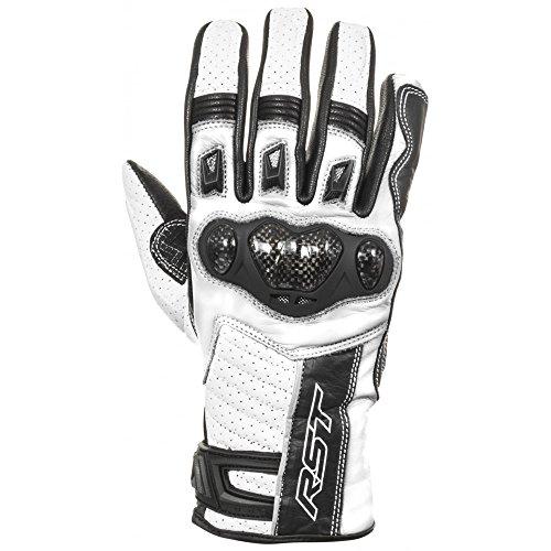 Preisvergleich Produktbild Neue RST Stunt 11 Ce 2653 Motorrad Handschuh weiß