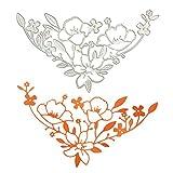 Berrose -Blumen und Schmetterlinge, Prägemesser, Weihnachtskarte, Fotorahmen Dekoration-stanzschablonen stanzschablone schachtel stanzschablonen prägeschablonenprägemaschine