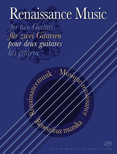 Renaissancemusik. Gitarre