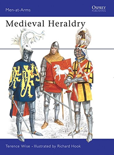 Medieval Heraldry (Men-at-Arms) por Terence Wise