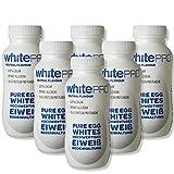 whitePROTM Flüssiges Eiklar 10x220 ml Flaschen - 24 g reines Eiweiß pro Flasche