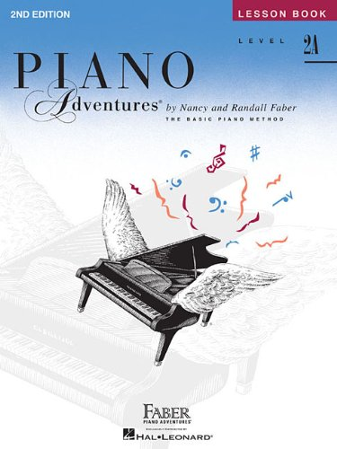 Piano adventures lesson book level 2a piano