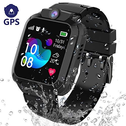 GPS Reloj Inteligente Niña Impermeable - Smartwatch Niños Localizador GPS Niños, Pulsera...
