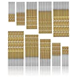 Spiralbohrer Set 100 stücke HSS Micro Bohrer Set 1/1,5/2 / 2,5 / 3mm Metall Twist Schnellarbeitsstahl Bohrer Werkzeuge Titan Beschichtet Für Holz Kunststoff Metall Glas