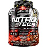 Muscletech Performance Series Nitro-Tech Supplement, 4 lbs, Brownie Cheesecake
