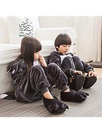ABYED Adulte Unisexe Anime Animal Costume Cosplay Combinaison Pyjama Outfit Nuit Vêtements Onesie Fleece Halloween Costume Soirée de Déguisement