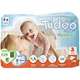 Tidoo- Couches Médium Night & Day (T3) 4-9 kg- 35 couches