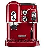 KitchenAid Artisan 5KES2102EE - Macchina per caffè espresso, Rosso