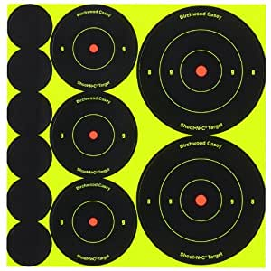 "Birchwood Casey Shoot-N-C Targets: Bull's-Eye 1"",2"" & 3"" Assorted /1000"