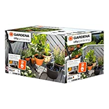 Gardena City Gardening Holiday Watering Set: Plant-Watering Set for Indoors and Outdoors, Individual Watering of Up to 36 Plants (1265-20)