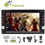 Eincar 6.2 Zoll Doppel 2 DIN, Auto Touchscreen DVD-Video-Player, Bluetooth-GPS-Navigationssystem / DVD / CD / VCD / SVCD / DIVX / MP3 / MP4 / MP5 / USB / SD / AM / FM / AUX In Car Stereo, Einbauschränken WIFI mit Funkempfänger Fernbedienung