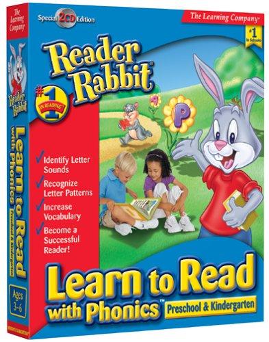 READER RABBIT READ W PHONICS PRE/KINDER
