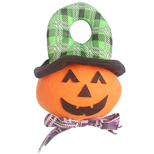 (Gulin Halloween Dekoration Vlies Plüsch Puppe, Horrible Halloween Tür hängende Wand, Anzug für KTV Bar)