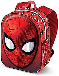 Karactermania Spiderman Spiderweb-3D Rucksack (Klein) Mochila Infantil 31 Centimeters 8.5 Rojo (