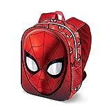 Karactermania Spiderman Spiderweb-3D Rucksack (Klein) Zainetto per bambini, 31 cm, 8.5 liters, Rosso (Red)