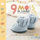 9 mois de crochet en attendant bébé: 25 modèles pour vous aider à patienter !...