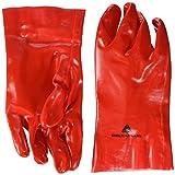 Delta Plus DPPVC732710  gants en PVC Rouge 27 cm x 0,90 mm