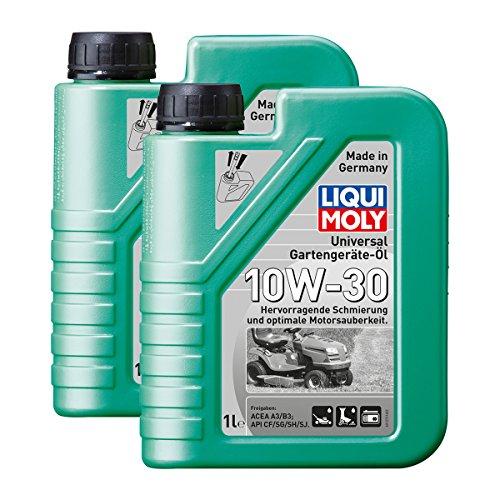 2x LIQUI MOLY 1273 Universal Gartengeräte-Öl 10W-30 4-Takt 1L