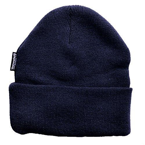 Wasserabweisende Wintermütze bis -30°C Kälte getestet wählbar One Size (Navy, Einheitsgröße)