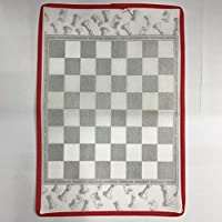Swiftswan Non-Woven Checkers/Foldable Chess Chess Travel Board Game Match Toy