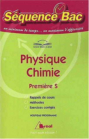 Physique Chimie Première S