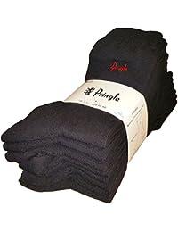 Pringle Men's Trouser Socks Black UK 7-11/EUR 40-46