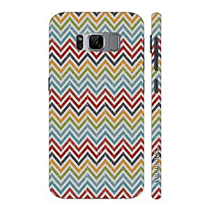 Enthopia Designer Hardshell Case Chevron Bow Back Cover for Samsung Galaxy S8
