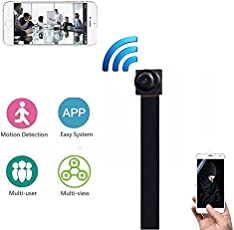 Leoie 1080P Wireless WiFi Mini Camera,Spy Hidden Camera Portable HD Security Ip Camera DIY Module DV DVR NVR Nanny Cam