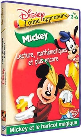Lecture, mathématiques et plus encore : Mickey et le haricot magique
