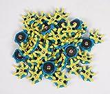 Beehive Filter 28pcs Golfschuh Spikes Stinger Screw Small Metal Thread Fast Twist Tri-Lok Soft Spikes Cleats Passen Foot Joy Footjoy Golf Sports shoes