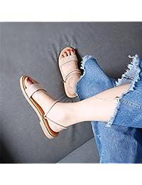Mujer Chanclas Sandalias Para Piel es Zapatos Varios Y Amazon pq7vS