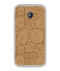 Fuson Designer Back Case Cover for Motorola Moto E2 :: Motorola Moto E Dual SIM (2nd Gen) :: Motorola Moto E 2nd Gen 3G XT1506 :: Motorola Moto E 2nd Gen 4G XT1521 (Wood Lakadi Antique Fashion Wood finish Dark Grey )