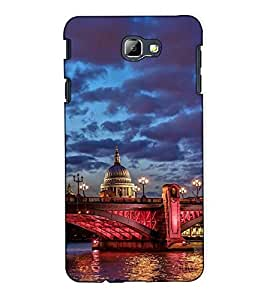 Fuson Designer Back Case Cover for Samsung On5 (2016) New Edition For 2017 :: Samsung Galaxy On 5 (2017) (Vintage building theme)