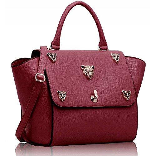 TrendStar Frau Entwerfer Taschen Damen neu Entwerfer Stil imitat Leder Trage Handtaschen