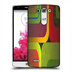 Snoogg Color Wide Designer Protective Phone Back Case Cover For LG G3 Beat / Mini