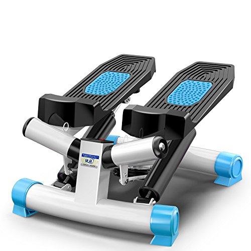 STEXH Stepper mit Power Ropes Schritt Maschine Gewichtsverlust Maschine in situ Bergsteigen Pedal Maschine Slim Legs Multifunktions Blue