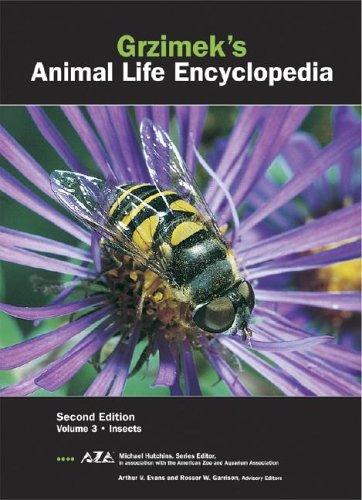 Grzimek's Animal Life Encyclopedia: Insects: 3 di Arthur V. Evans,Rosser W. Garrison,Neil Schiager,Michael Hutchins,Joseph E. Trumpey