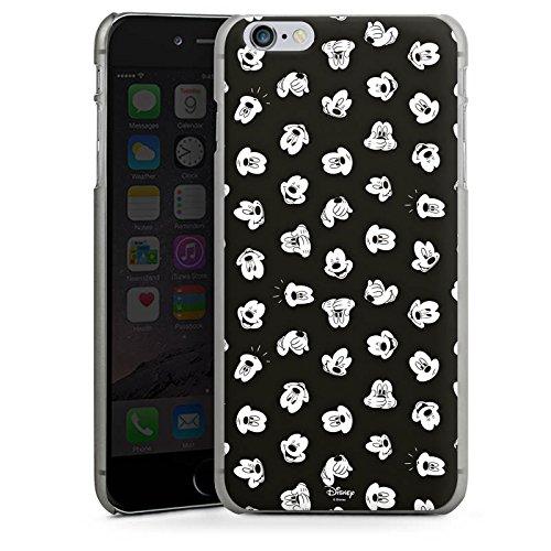 Apple iPhone X Silikon Hülle Case Schutzhülle Disney Mickey Mouse Fanartikel Geschenke Hard Case anthrazit-klar