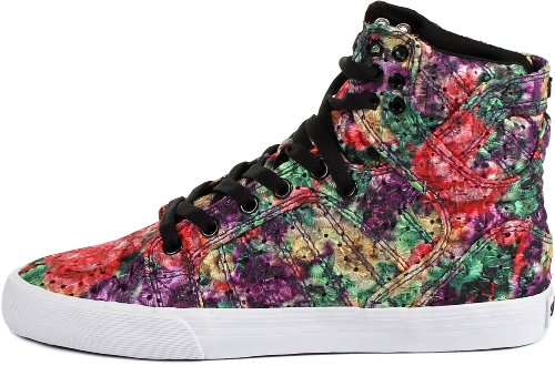 Supra SKYTOP SW18006, Sneaker donna Floral/Weiss