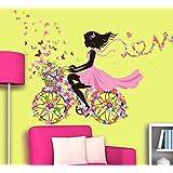 Elf Girl DIY PVC Stickers Wall Stickers For Kids Rooms Boys Girls Children Bedroom Home Decor Wallpaper