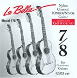 Labella FG178 Jeu de Cordes pour Guitare Classique 7/8 62 cm