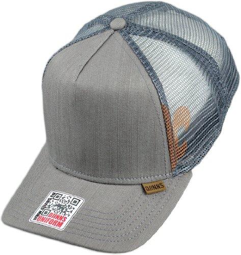 Djinns HFT Linen 2014 Grey Snapback Cap Kappe Neu OSFA One Size Herren Men